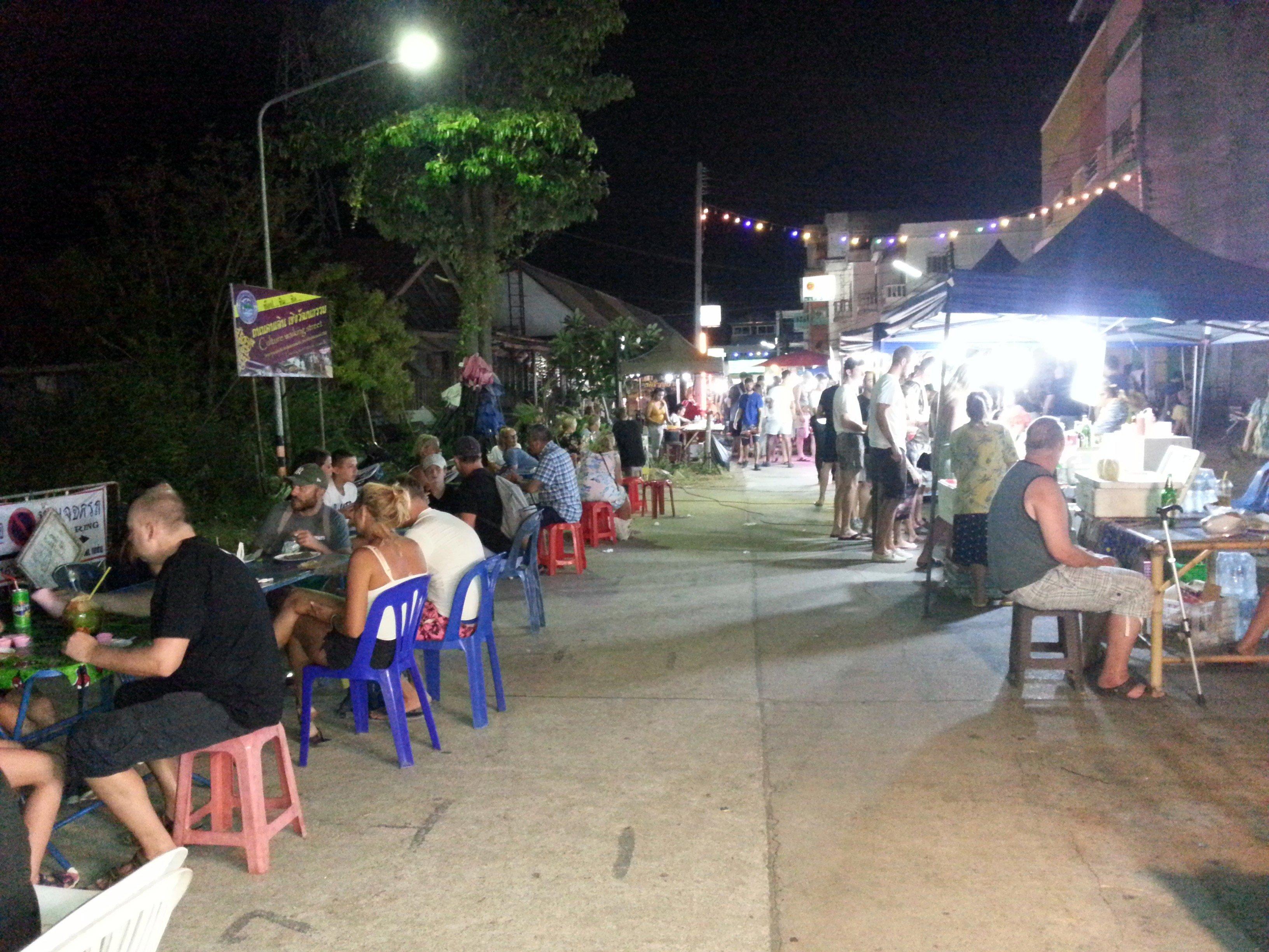 Saladan Walking Street in Koh Lanta