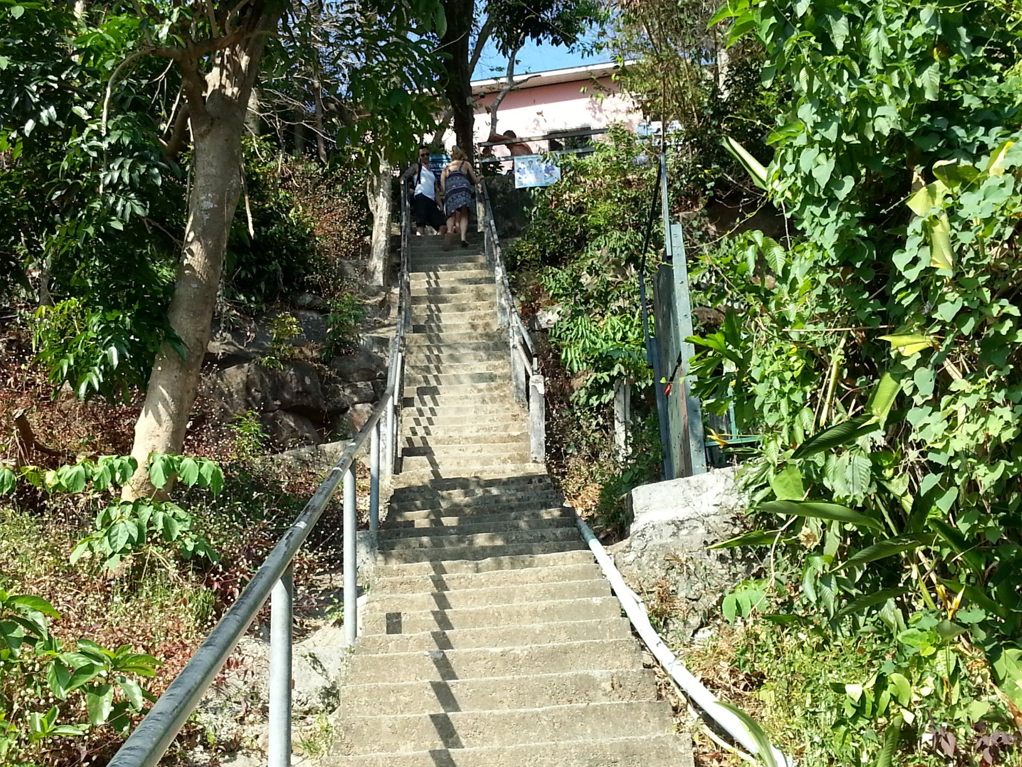 Stairs up to Koh Phi Phi Viewpoint