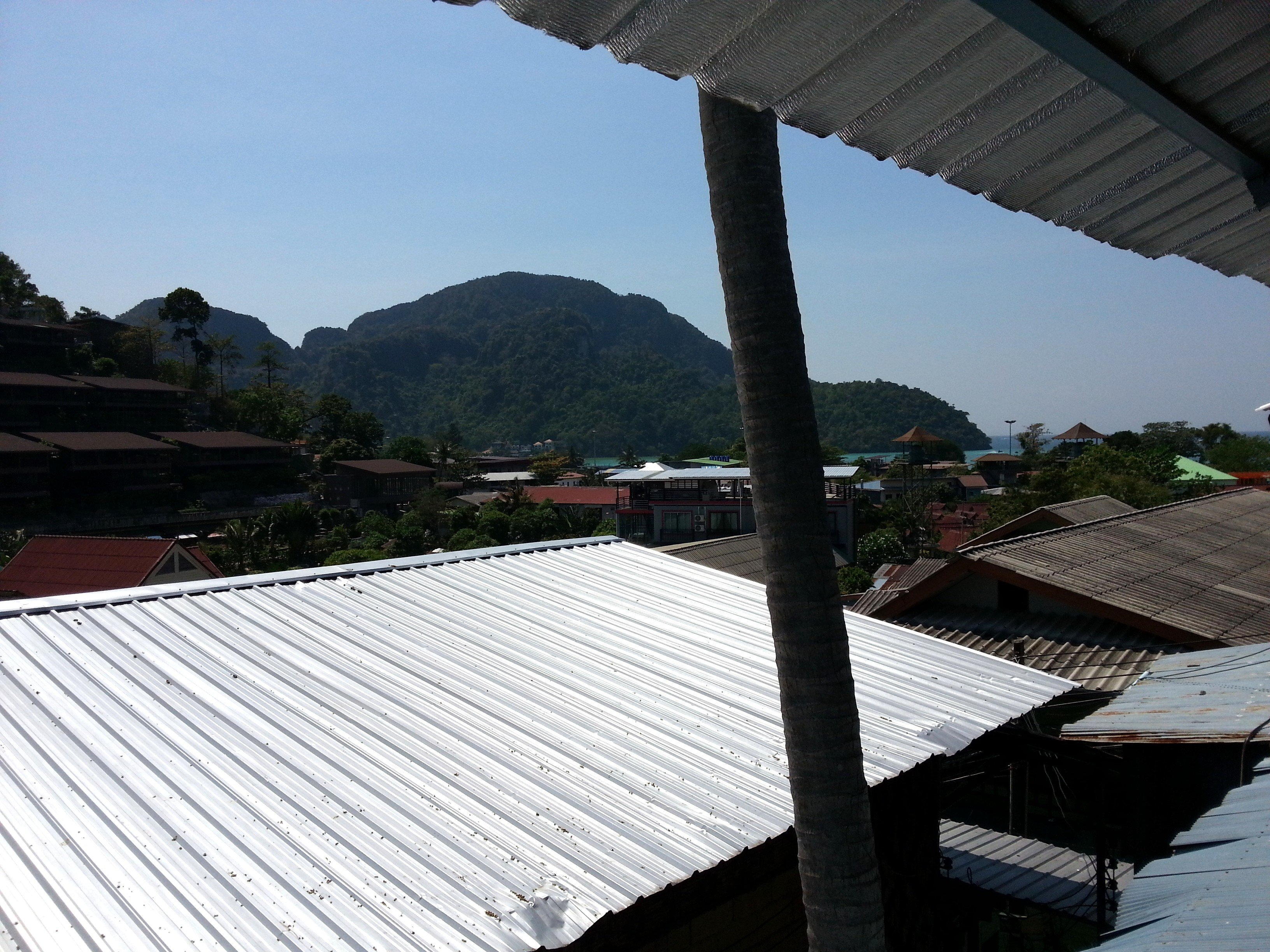View from the Lux Guesthouse