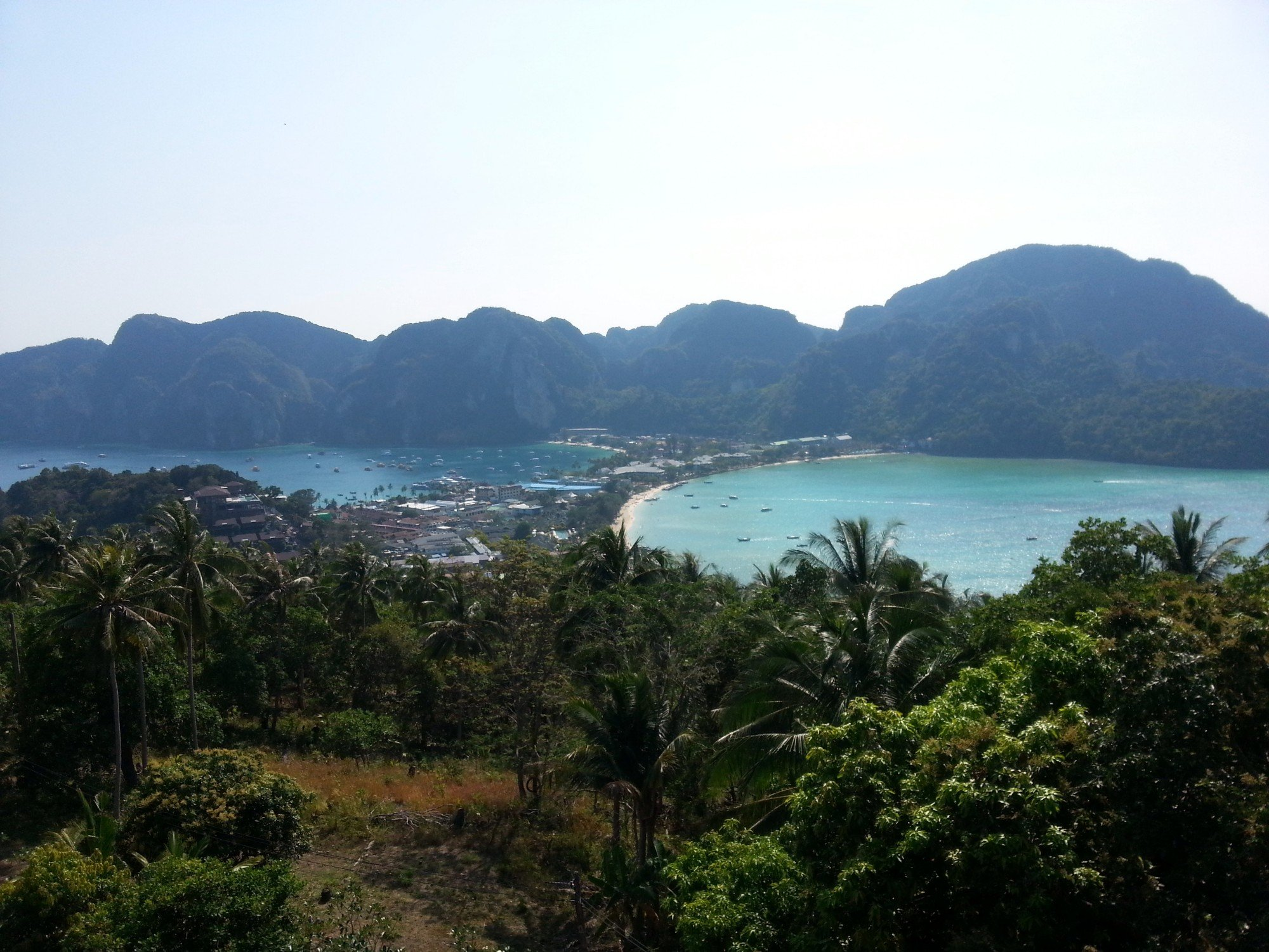 Viewpoint in Koh Phi Phi