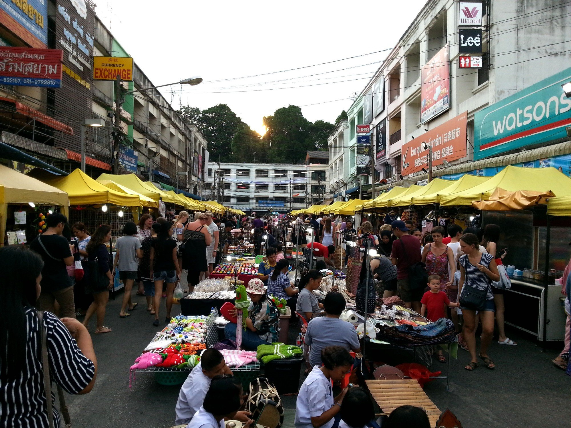 Walking Street in Krabi Town