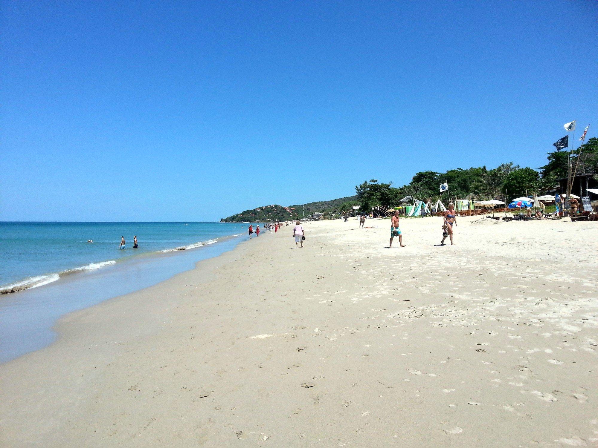 Centre of Klong Khong Beach