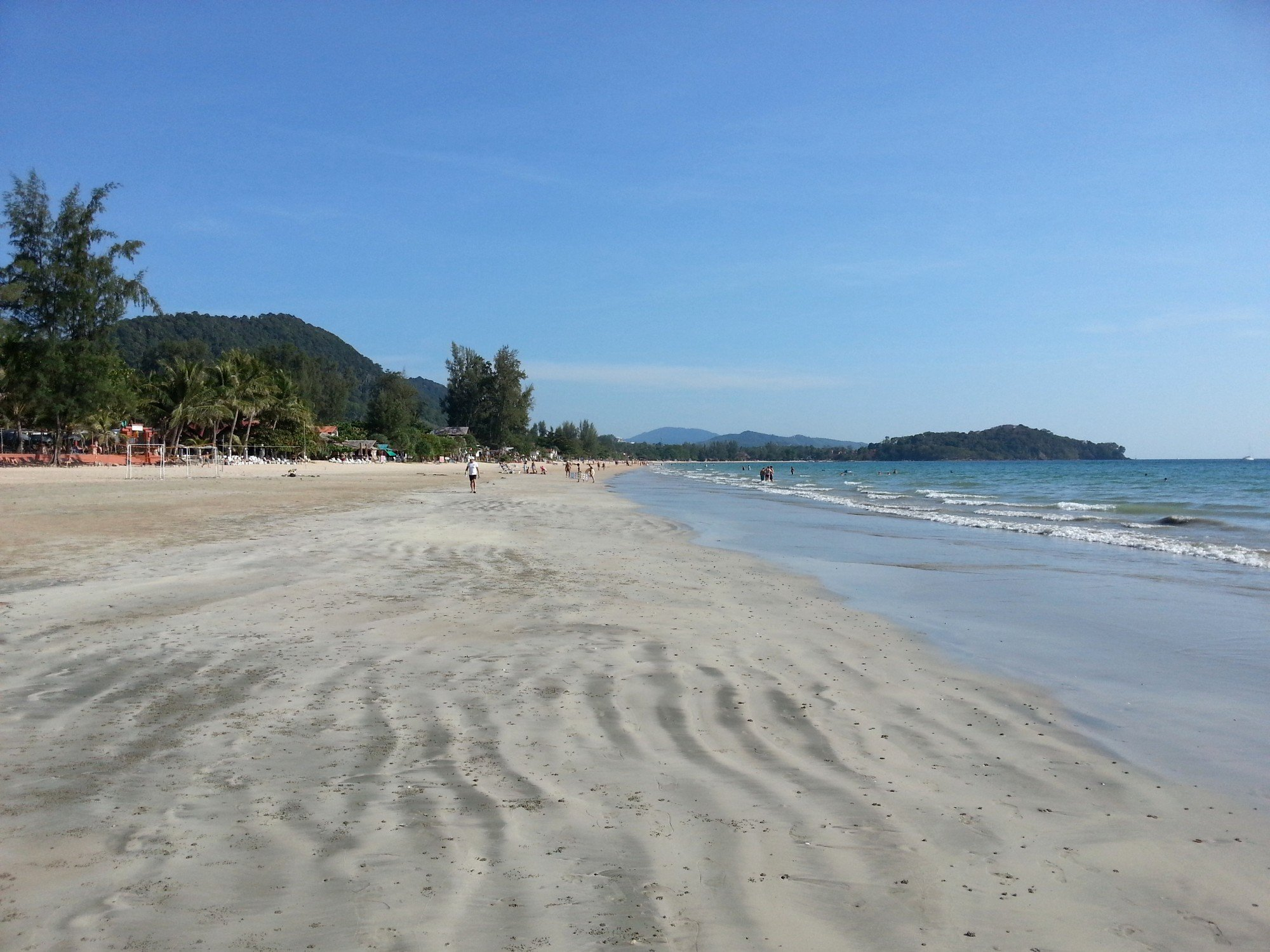 Klong Dao Beach on Koh Lanta