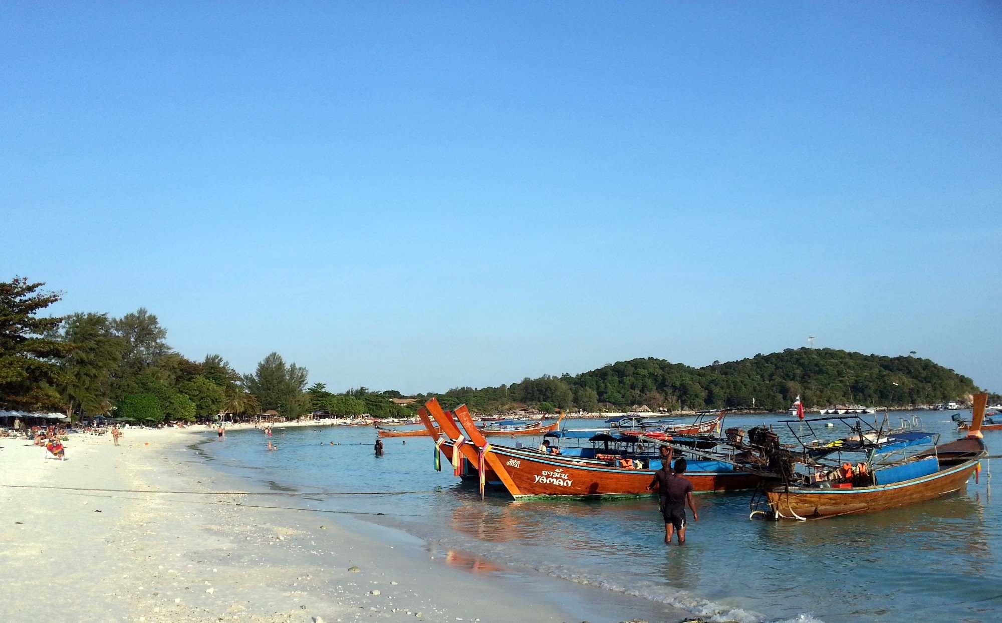 Late afternoon on Pattaya Beach