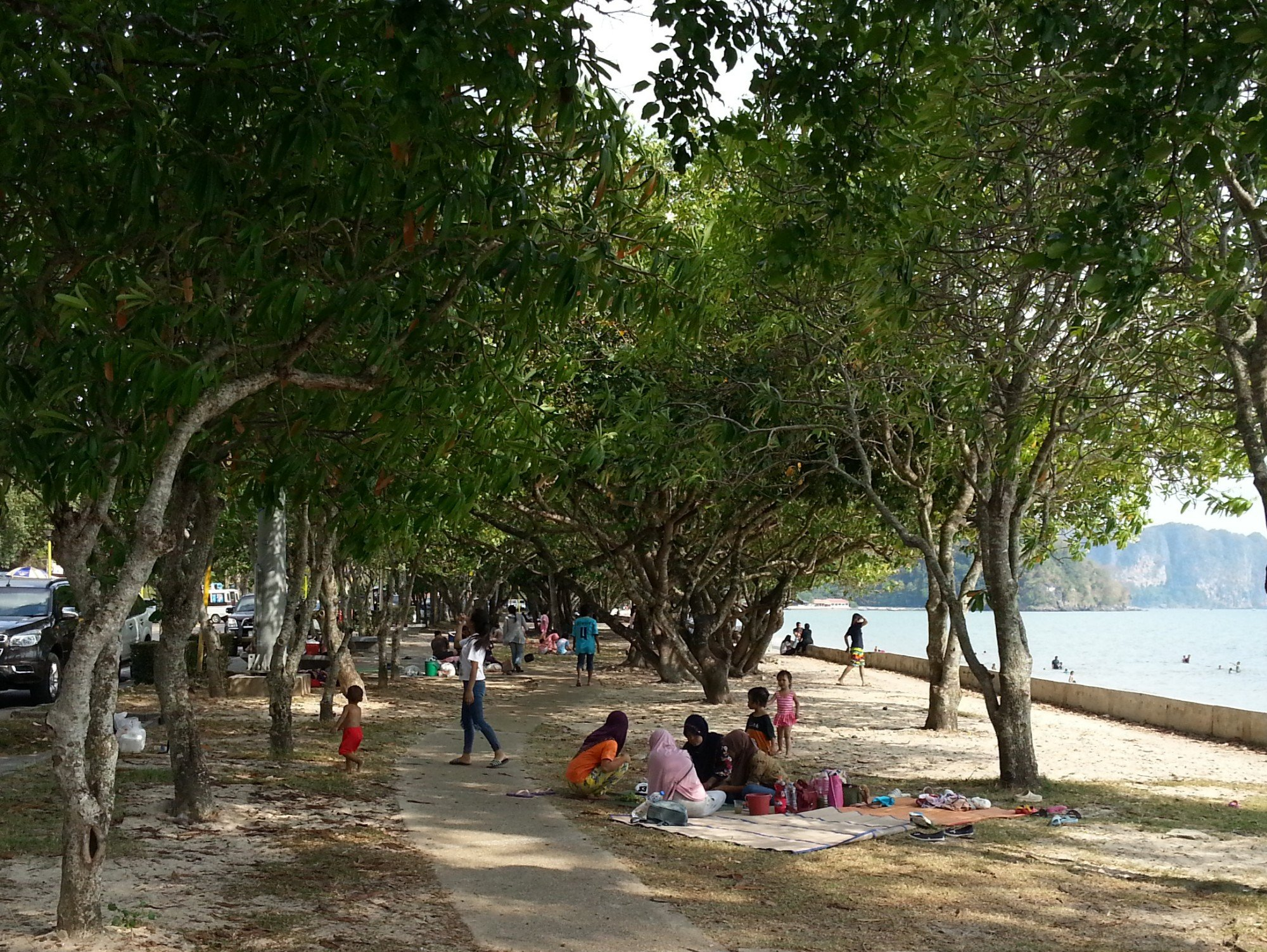 Noppharat Thara Beach is popular spot for picnics