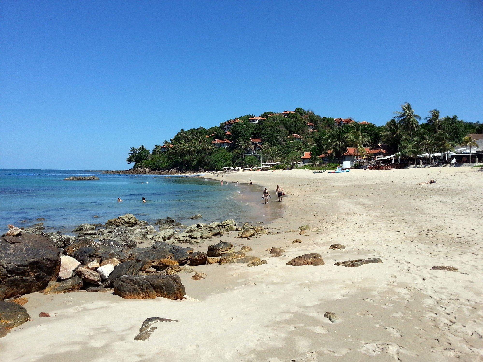 Northern end of Klong Khong Beach