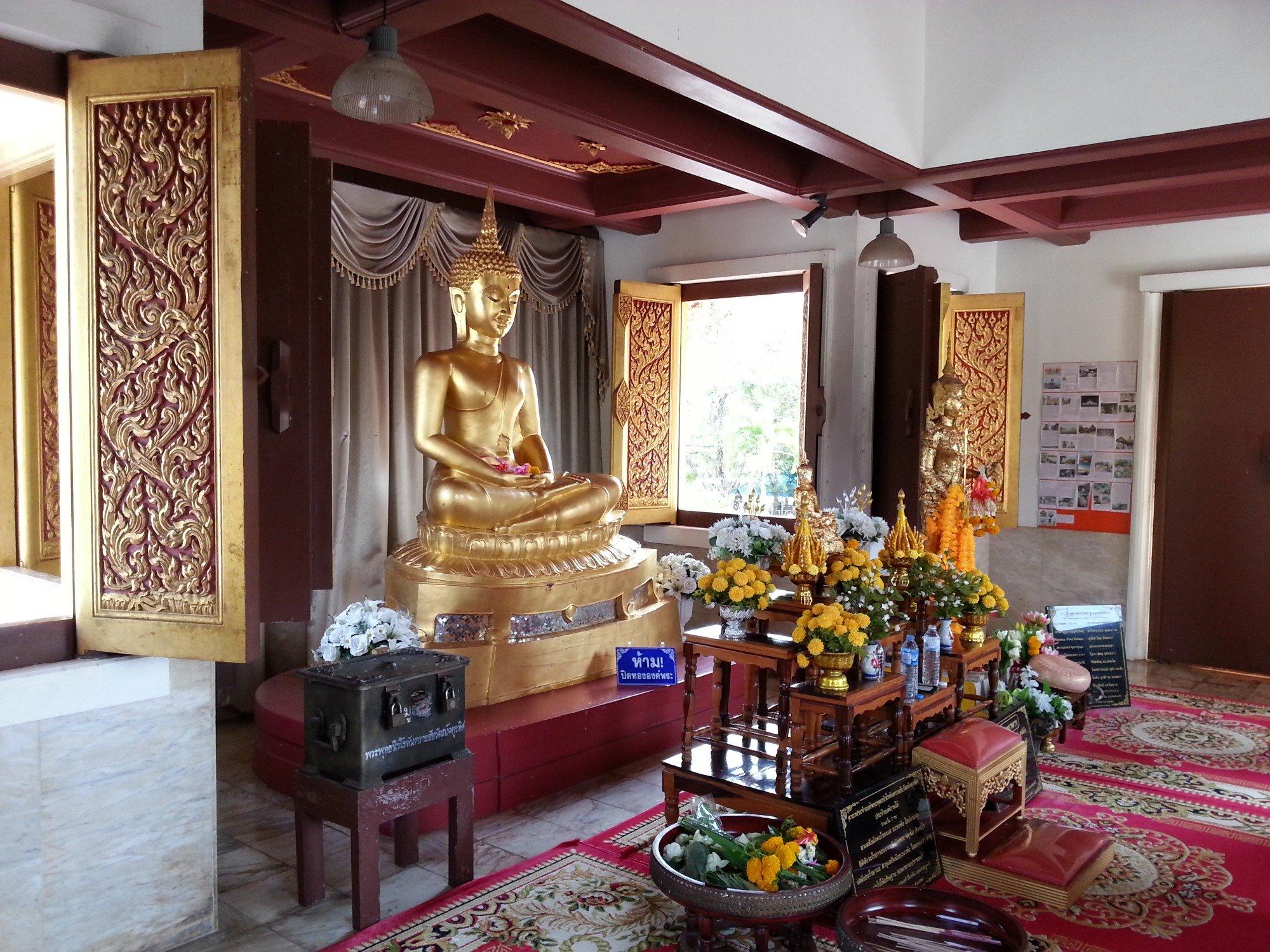 Phra Phuttha Nirokhantrai Chaiwat Chaturathit in Phatthalung