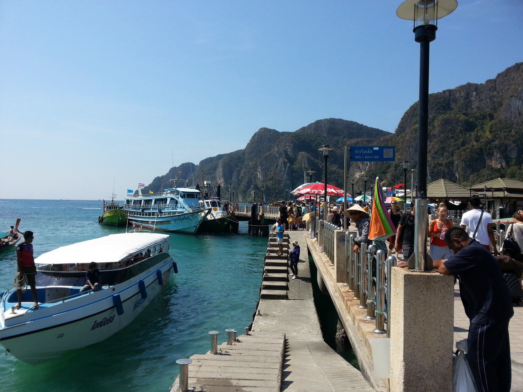 Pier in Tonsai Bay