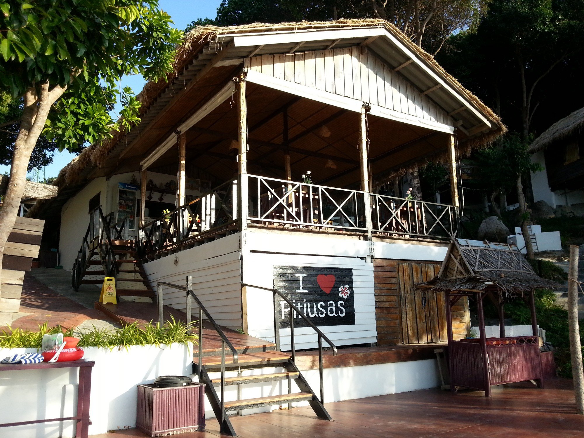 Restaurant at Pitiusas Beach