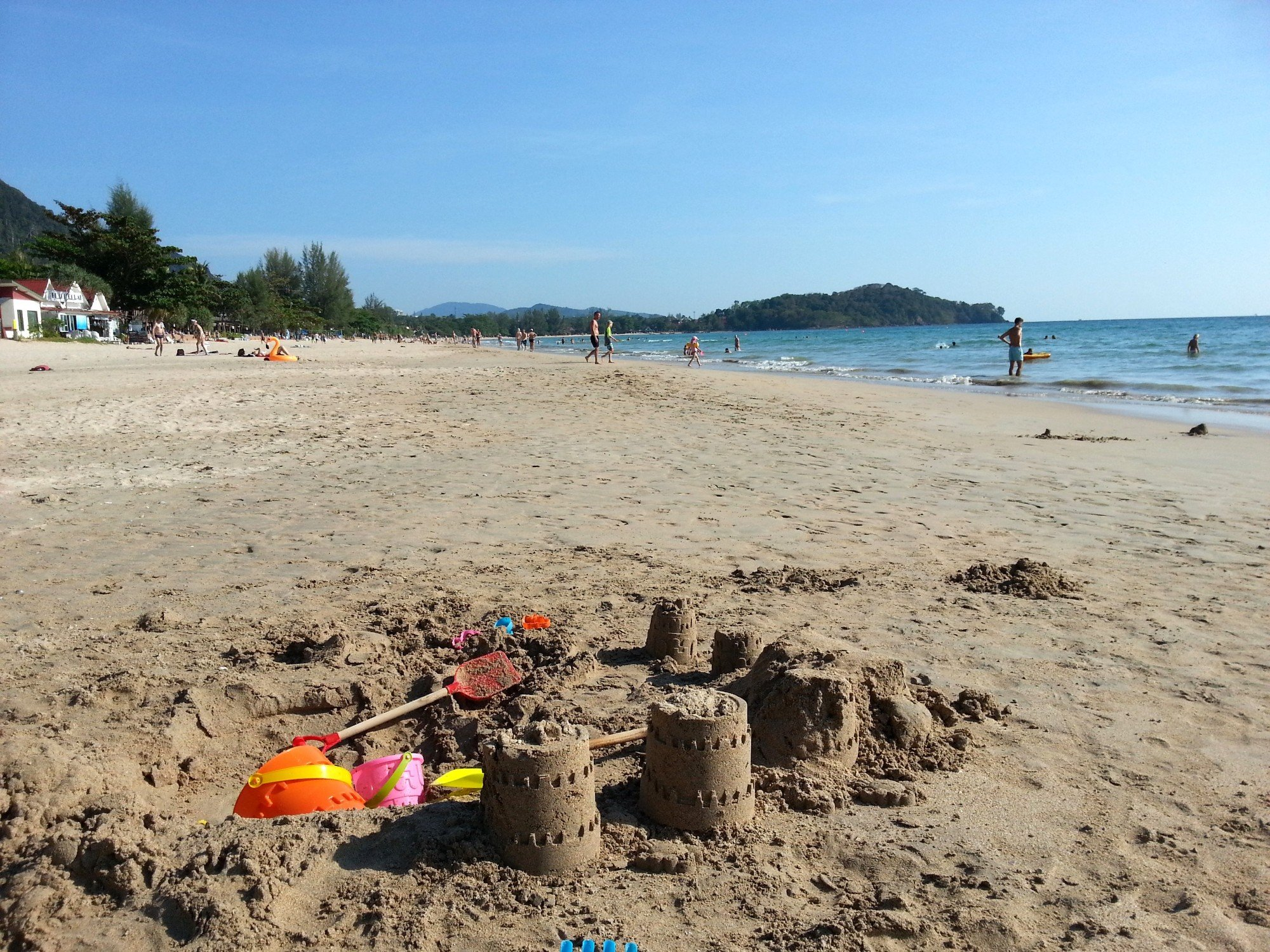 Sandcastle on Klong Dao Beach