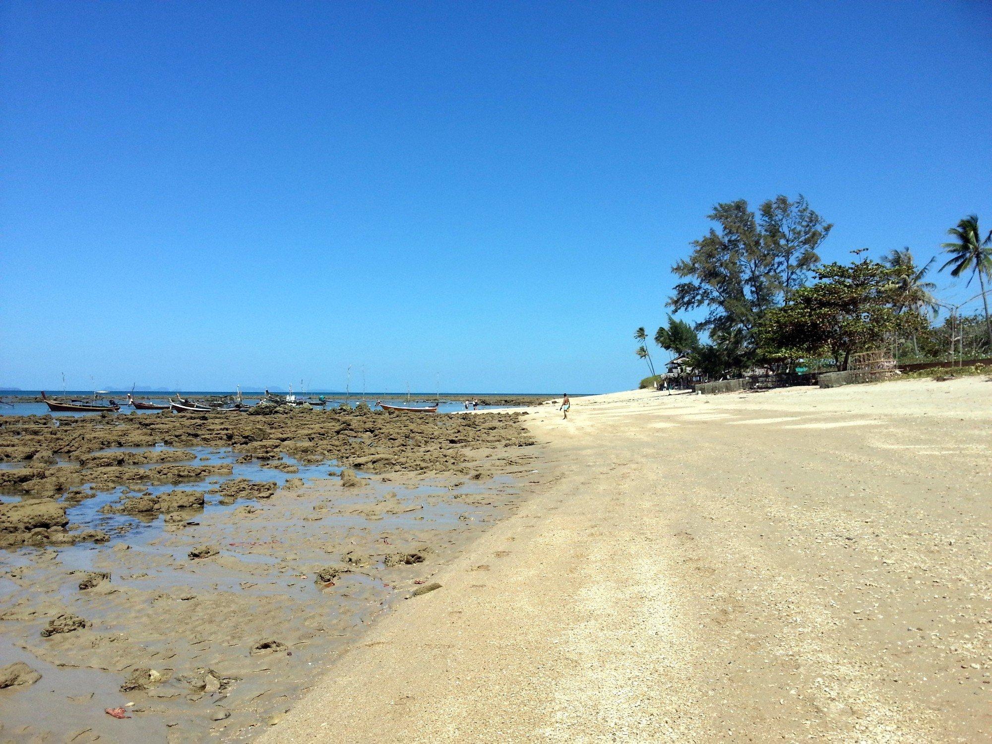 Southern end of Klong Khong Beach