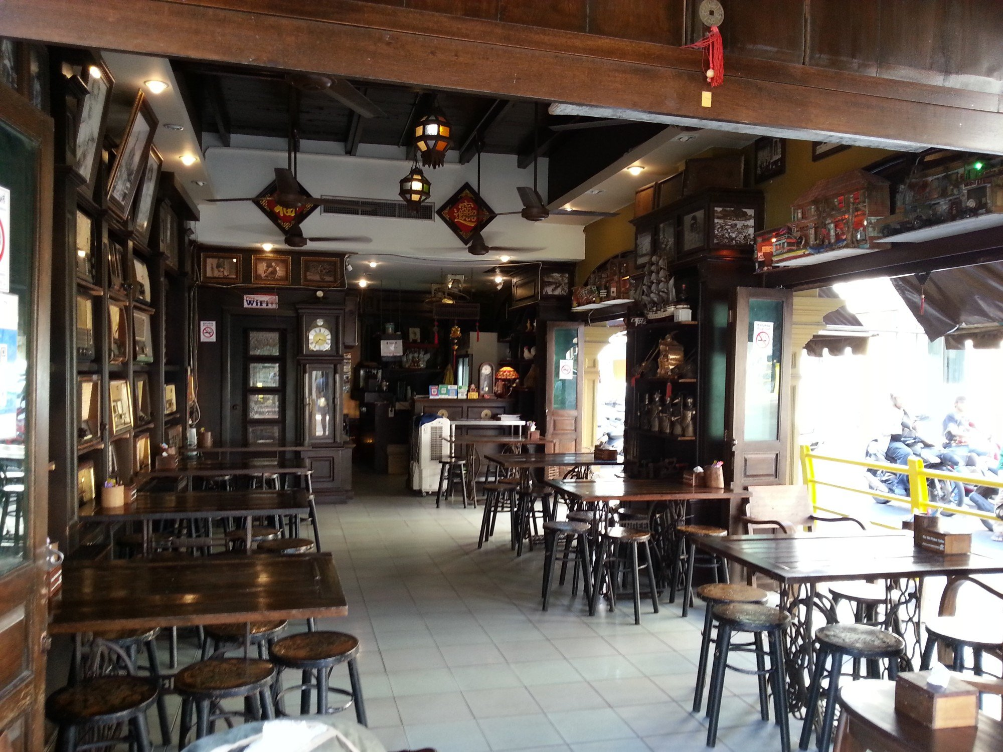 The Old Phuket Coffee Station on Thalang Road