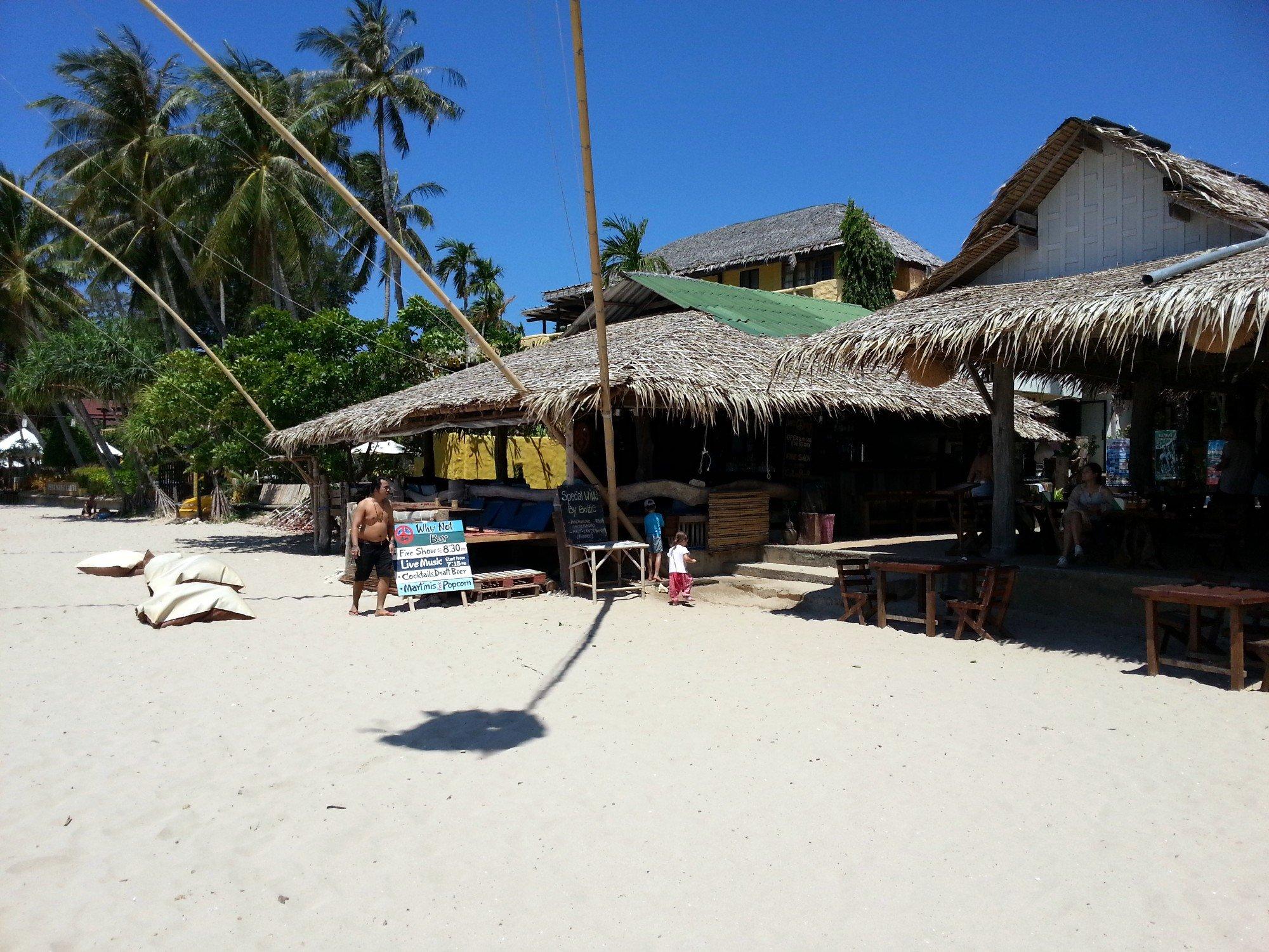 Why Not Bar at Kantiang Bay