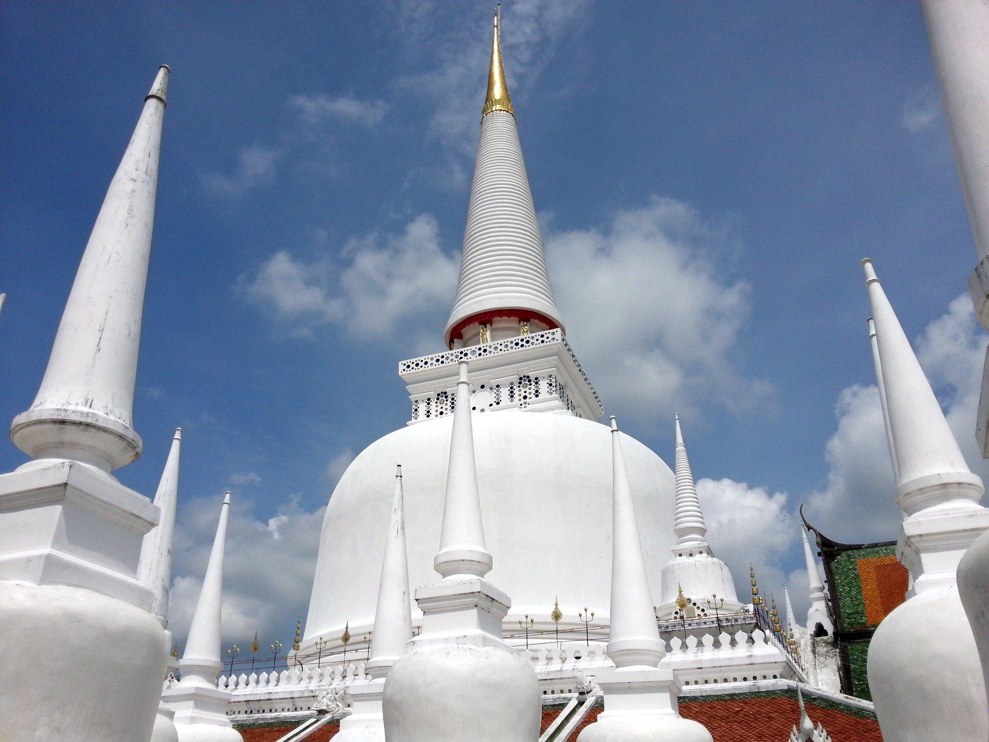 Phra Borommathat Chedi at Wat Phra Mahathat