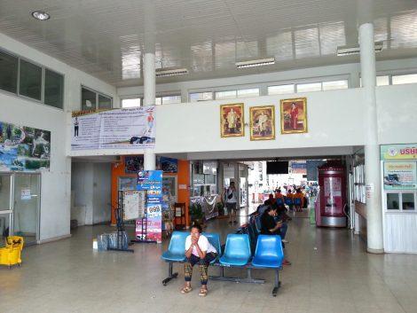 Ticket Hall at Trang Bus Terminal