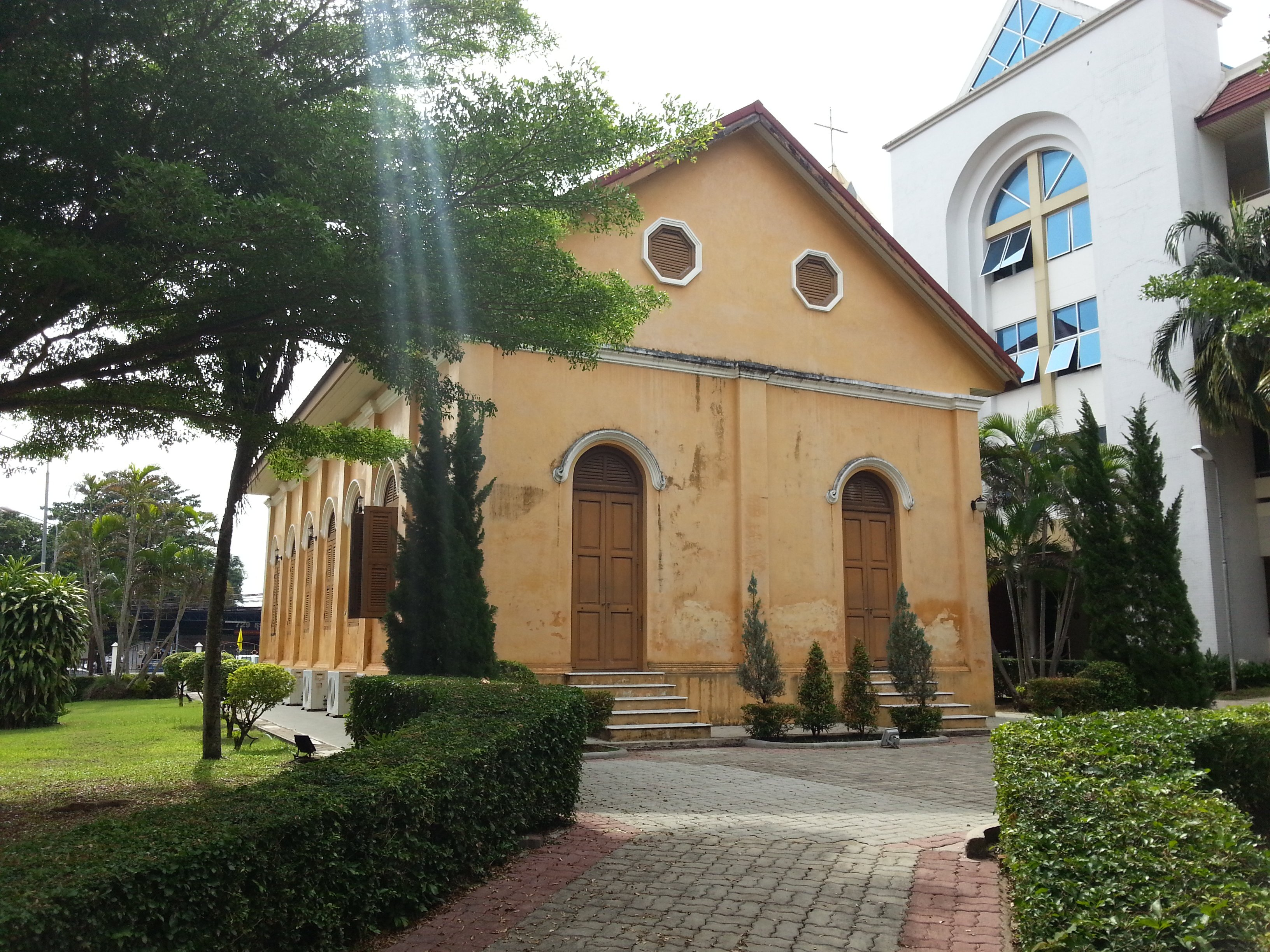 Rear of Trang Church