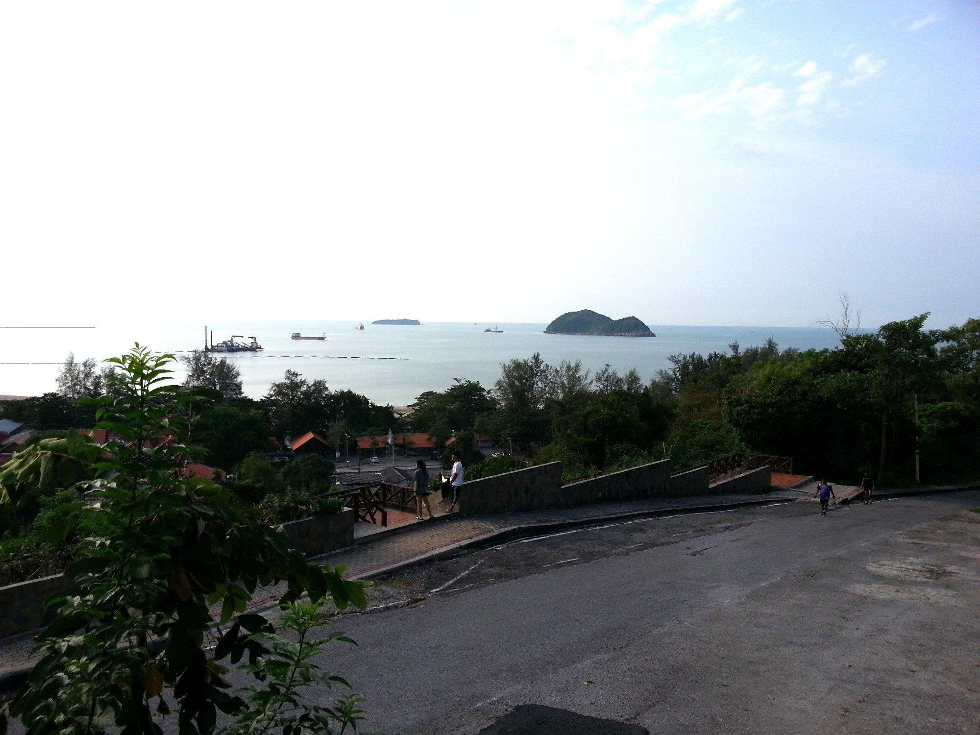View north from Khao Noi Hill