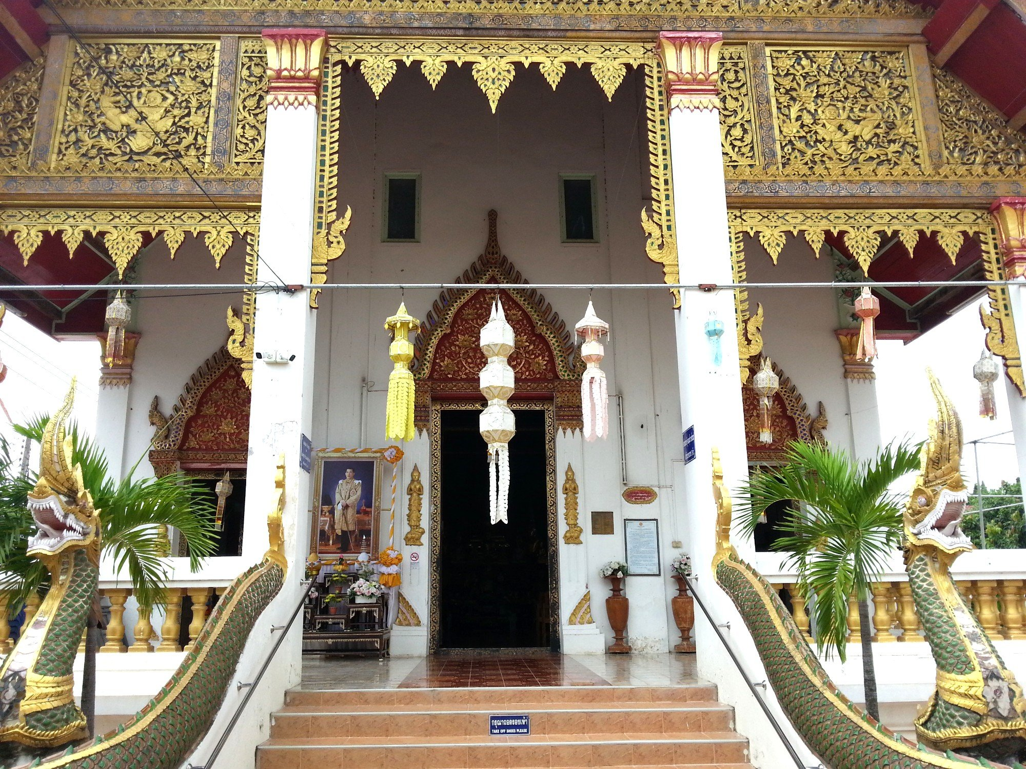 Entrance to the Ordination Hall at Wat Phong Sunan