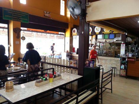 Inside Koh Sompet Restaurant