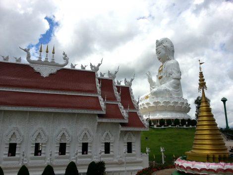 Wat Huay Pla Kang in Chiang Rai
