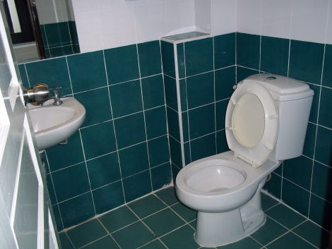 Bathroom at the Erawan House