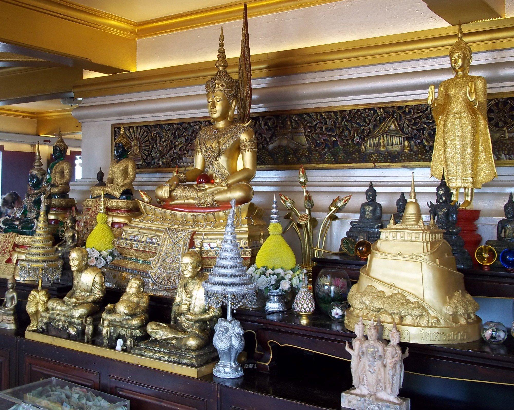 Buddha Statues at Wat Saket