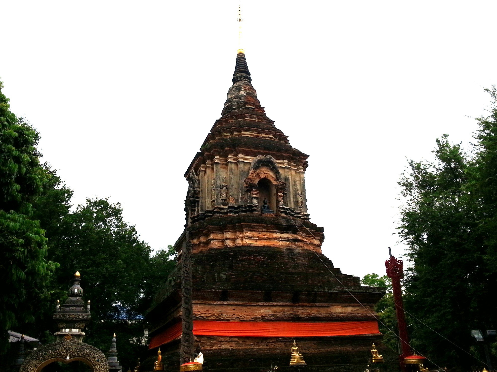 Chedi at Wat Lok Moli