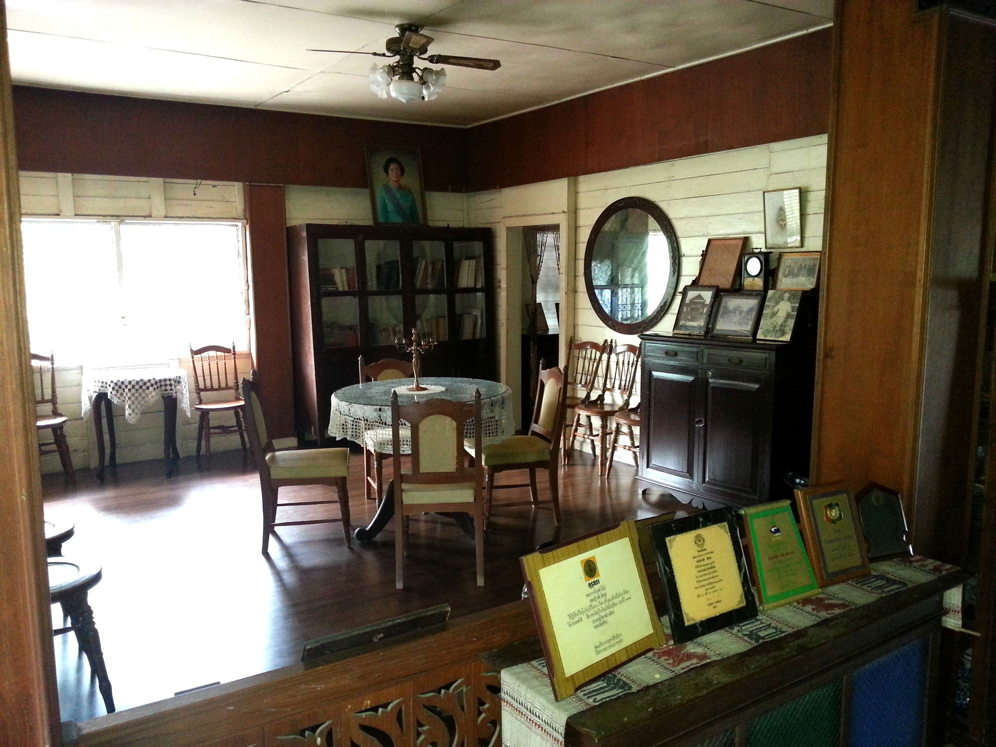 Drawing room at Baan Sao Nak
