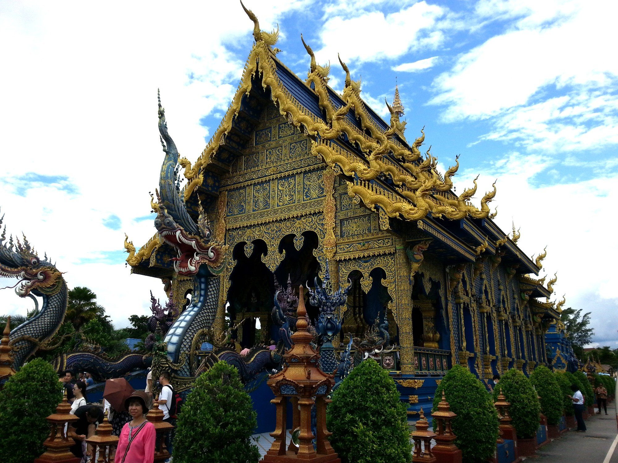 Ordination Hall at Wat Rong Seur Ten