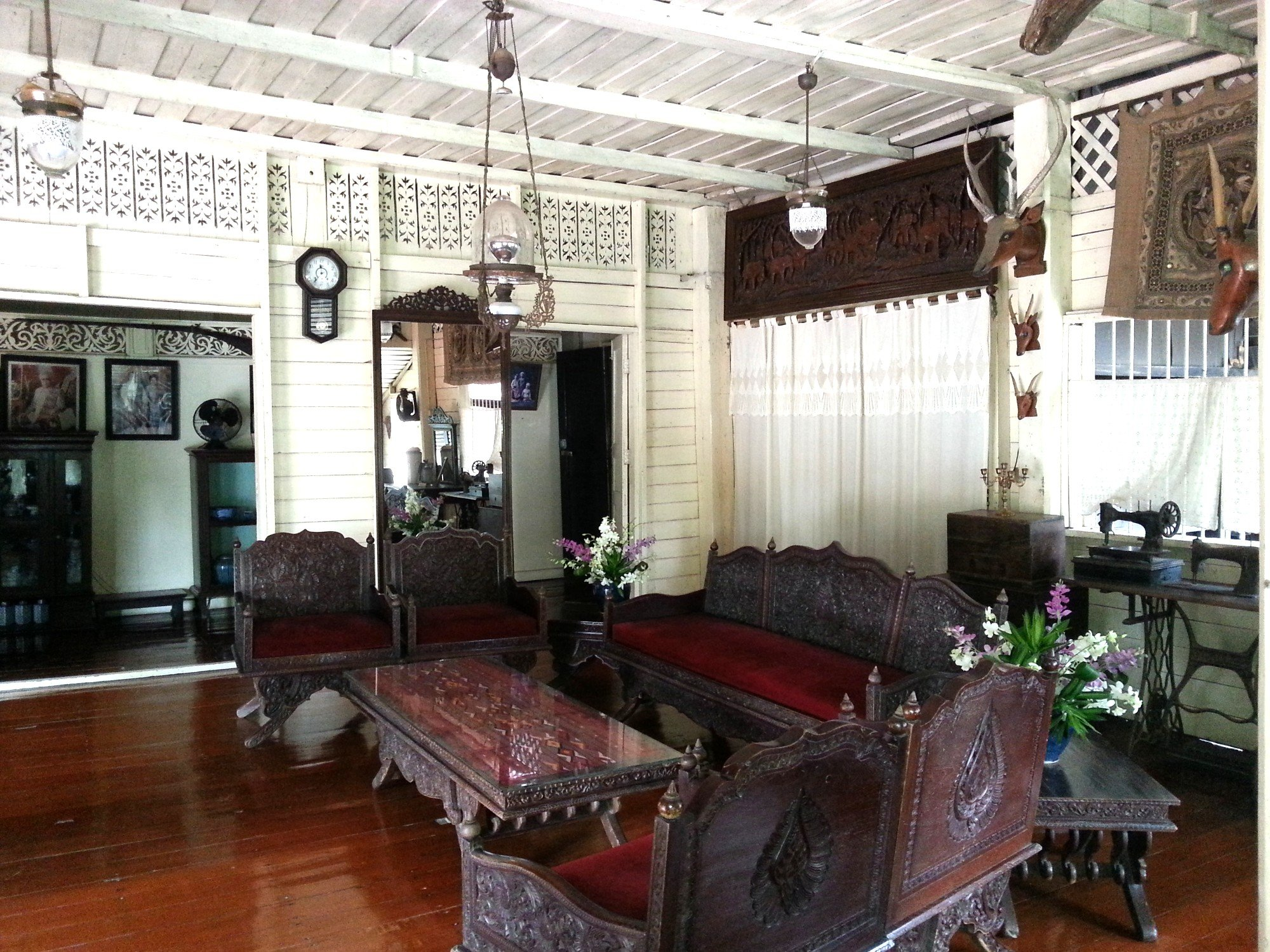 Sitting room at Baan Sao Nak