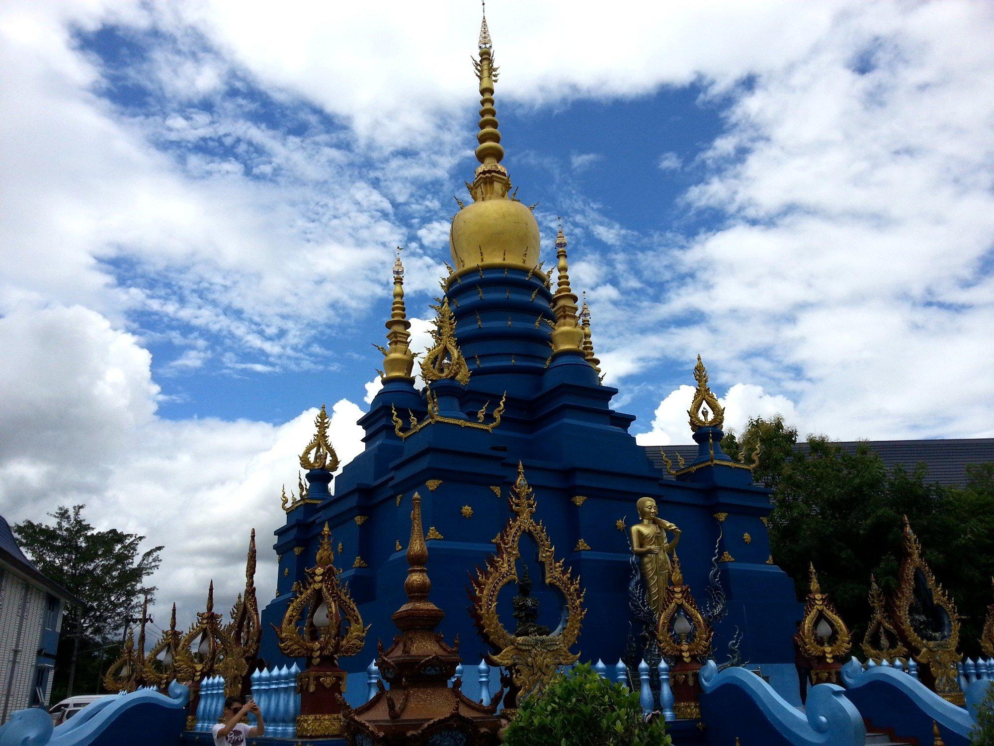 Stupa at Wat Rong Seur Ten