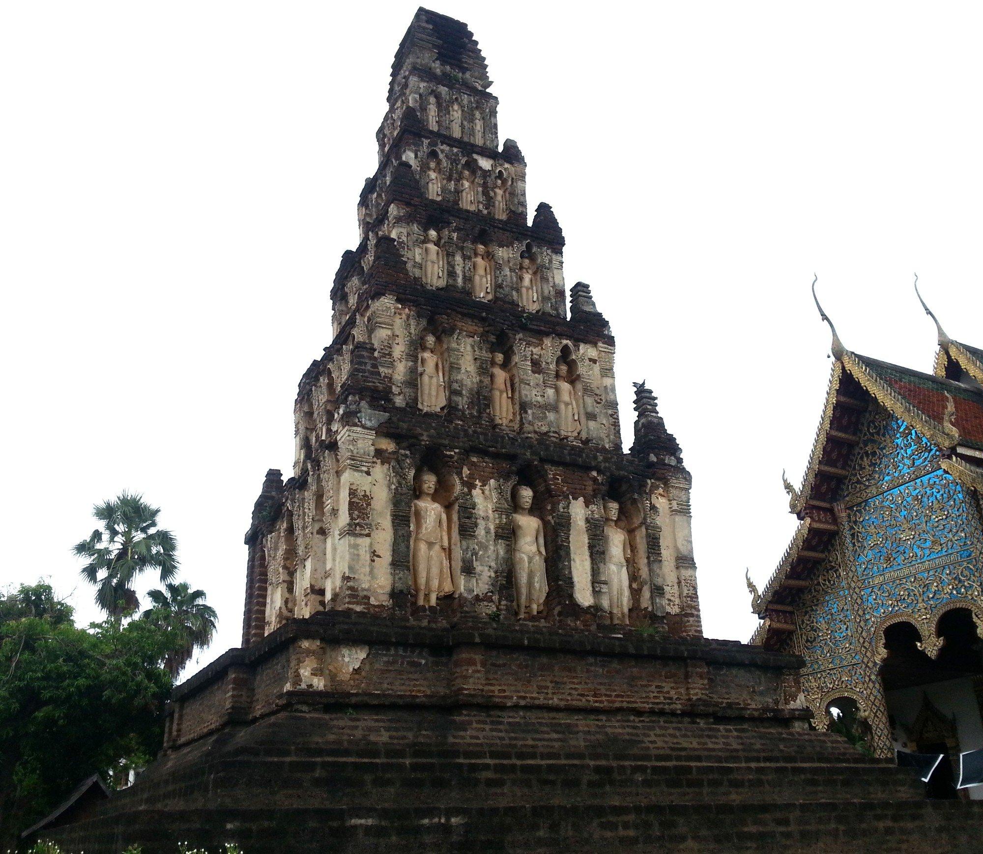 Suwan Chang Kot Chedi at Wat Chammathewi