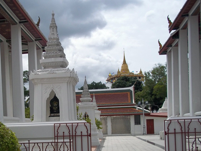 View of Wat Saket from Wat Ratchanatda