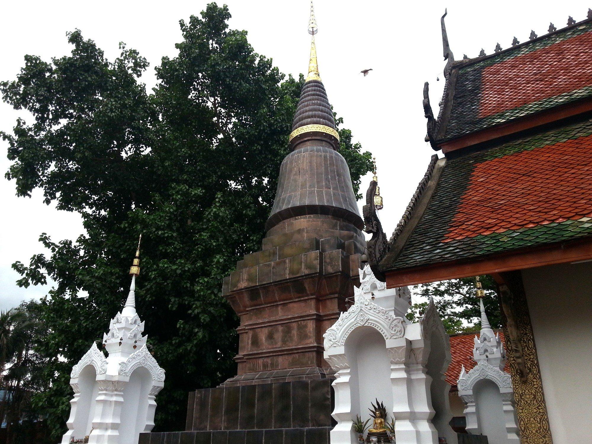 Chedi at Wat Pratu Pong