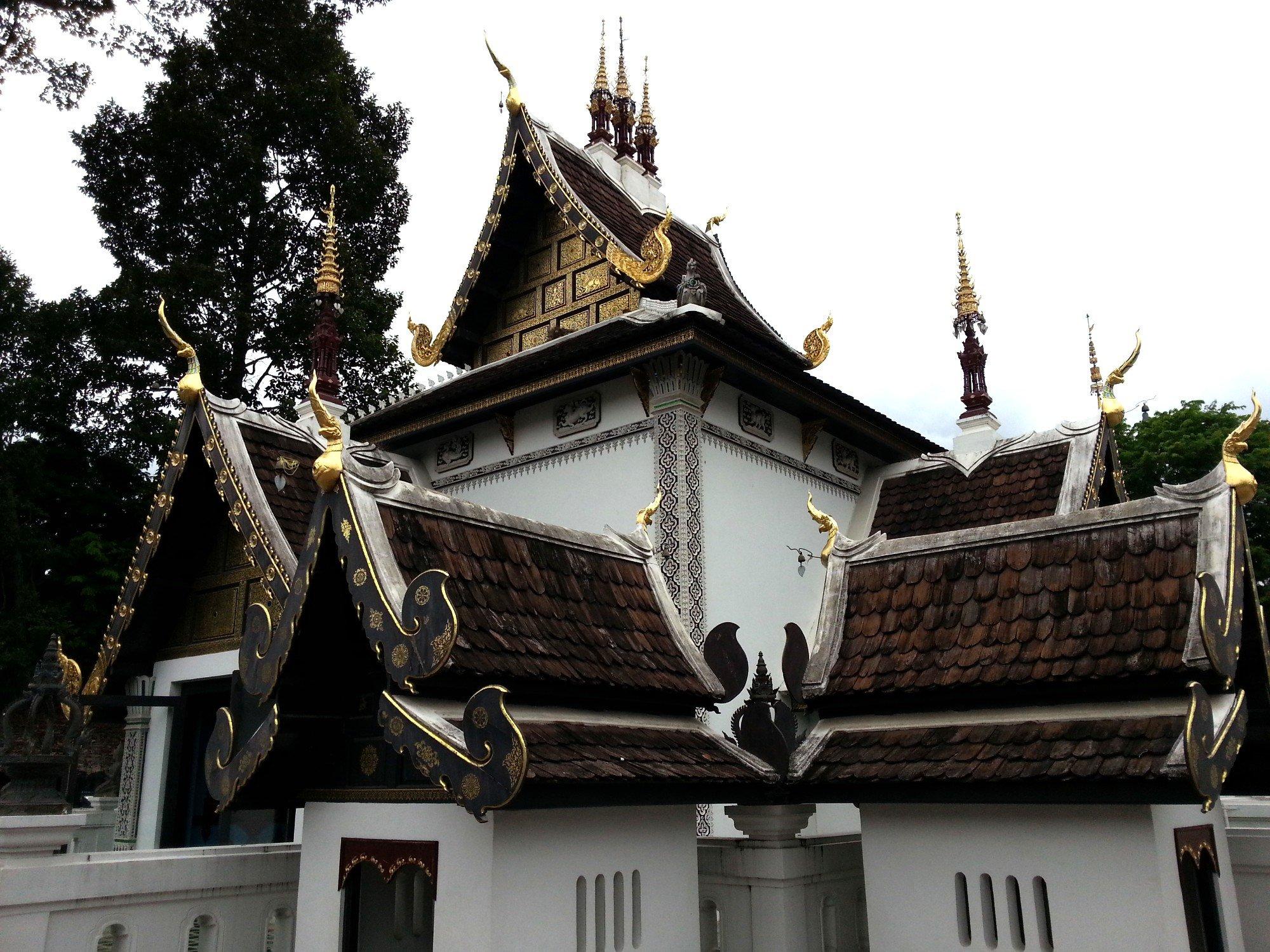 City Pillar Shrine at Wat Chedi Luang