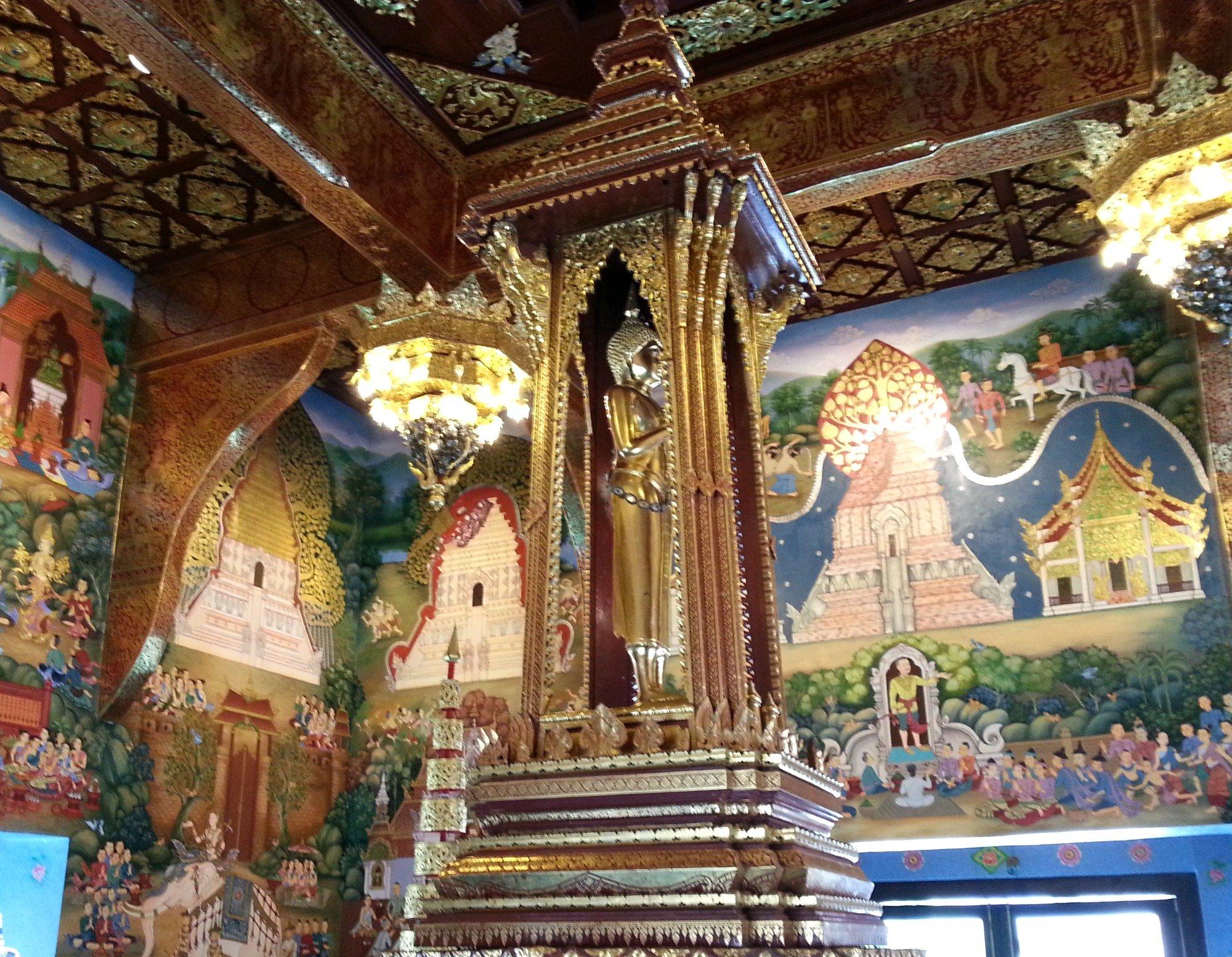 Inside Chiang Mai's City Pillar Shrine