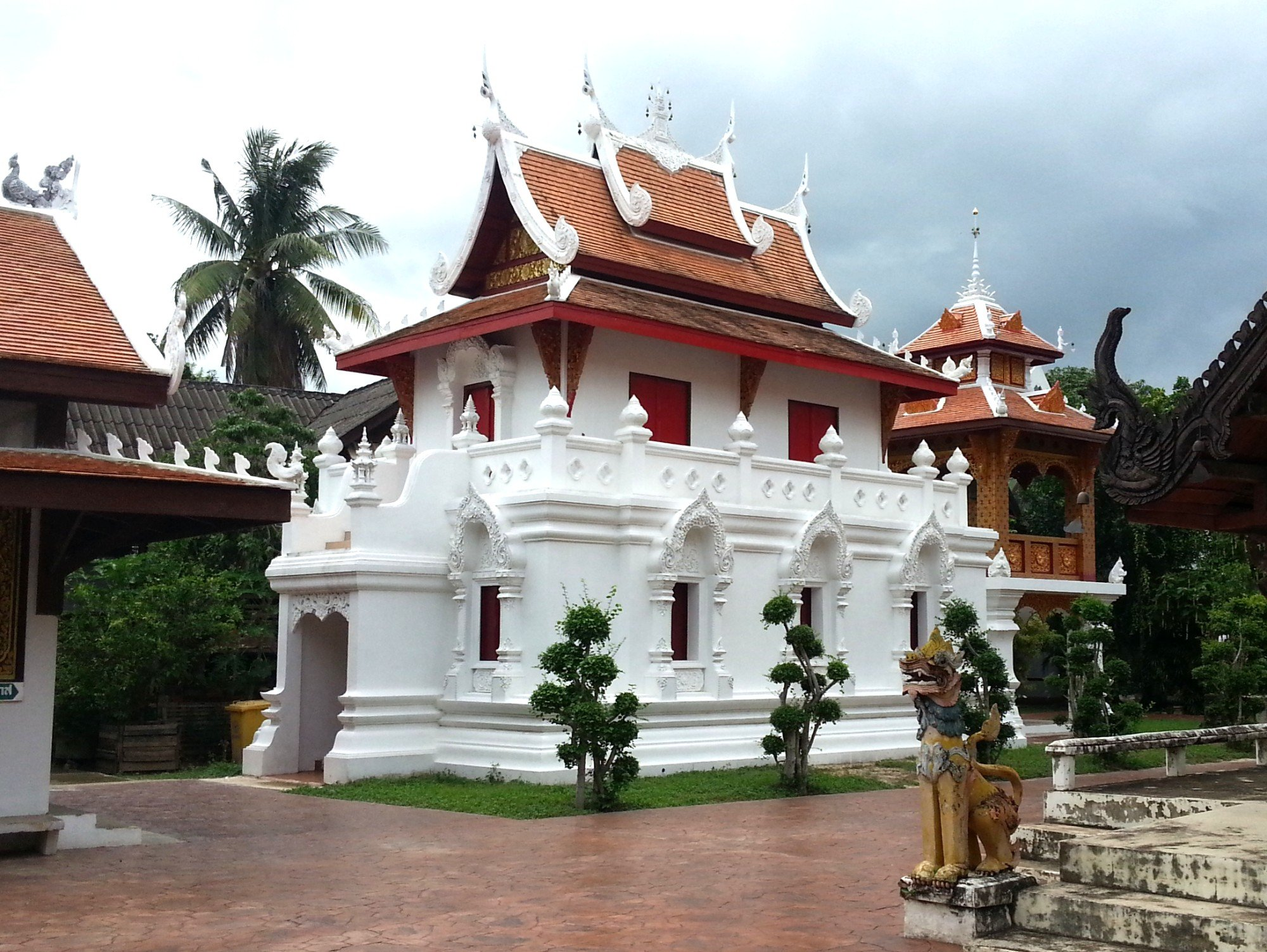 Library at Wat Pratu Pong