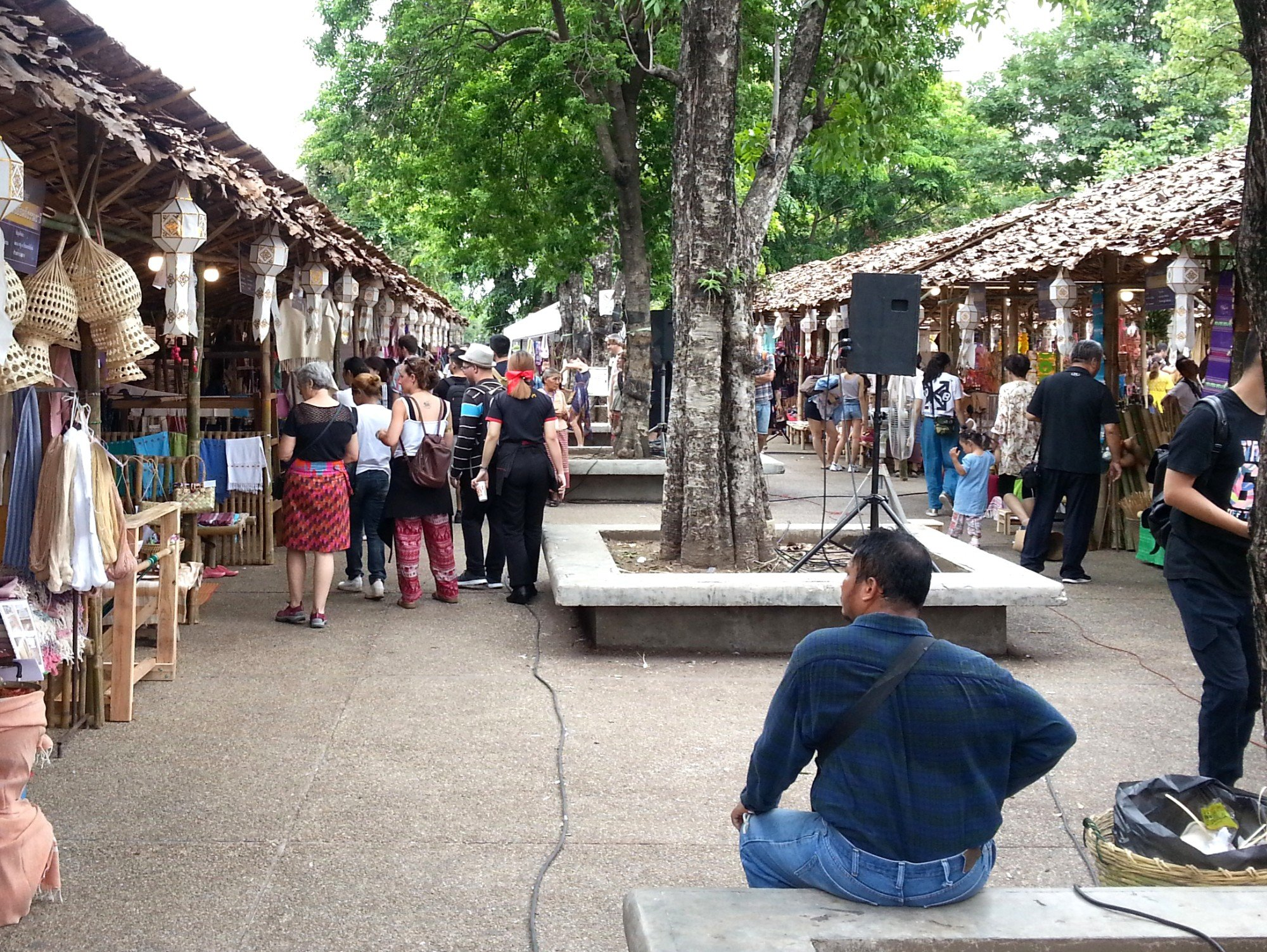 Market at the Tha Phae Gate