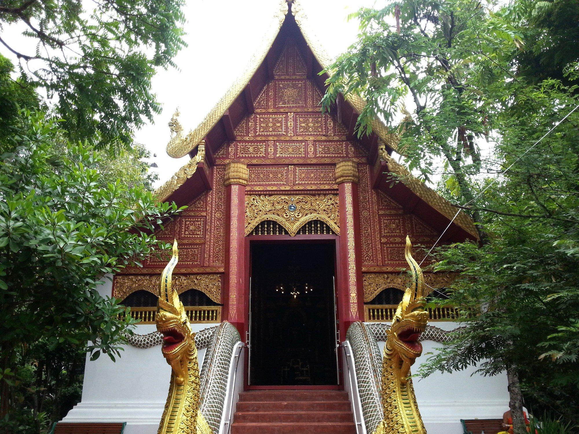 Ordination hall at Wat Phra Kaew