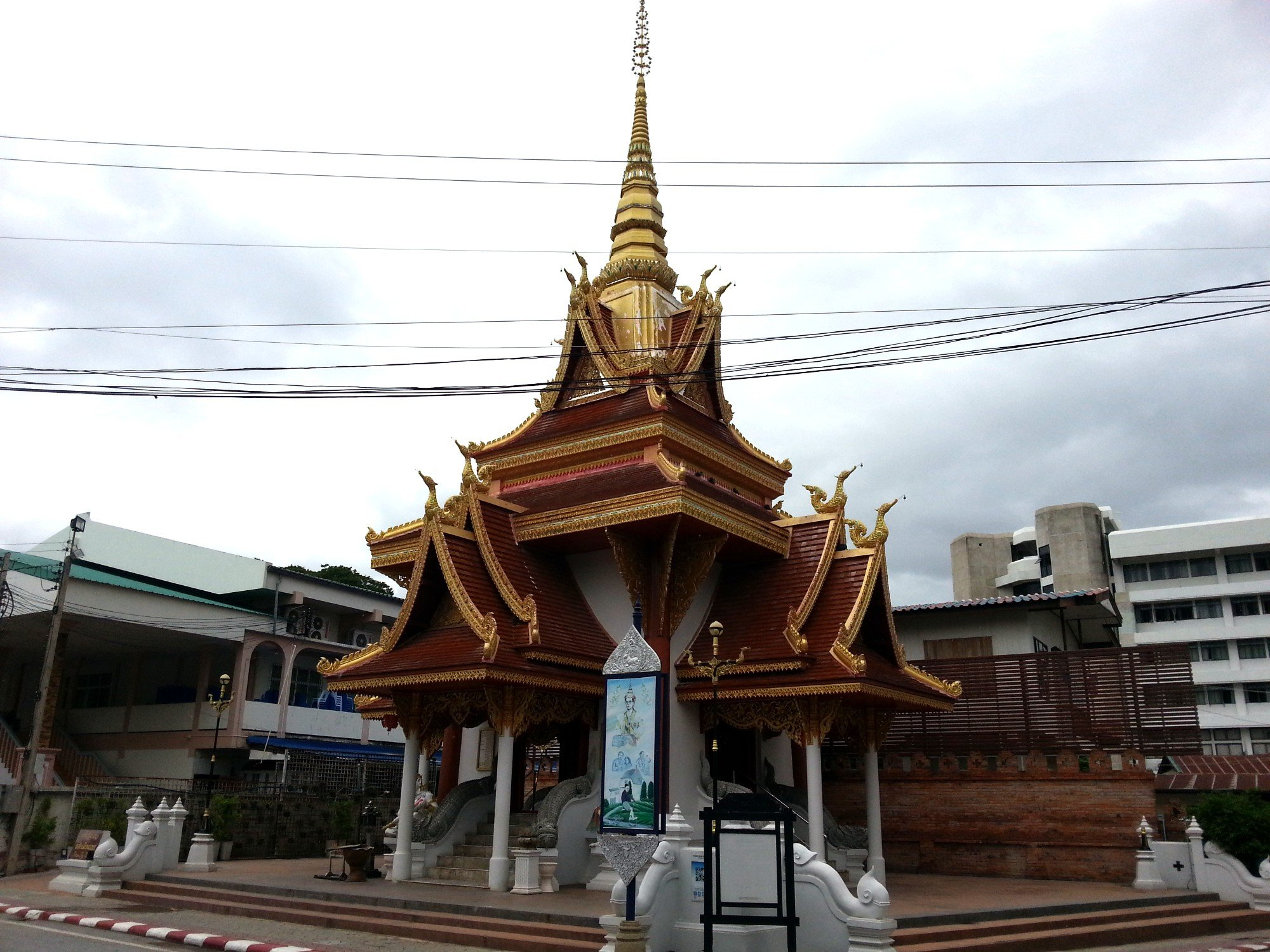 Outside of Phrae City Pillar Shrine