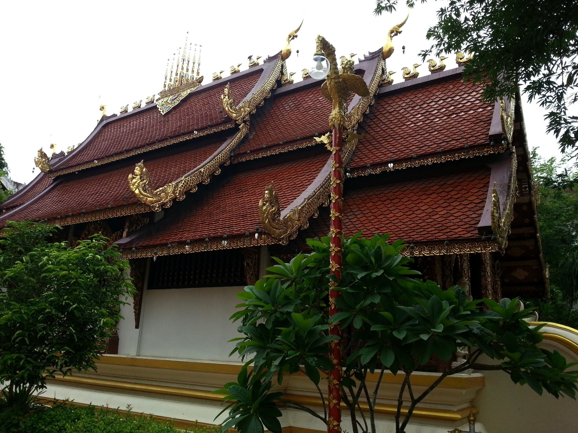 Prayer hall at Wat Phra Sing