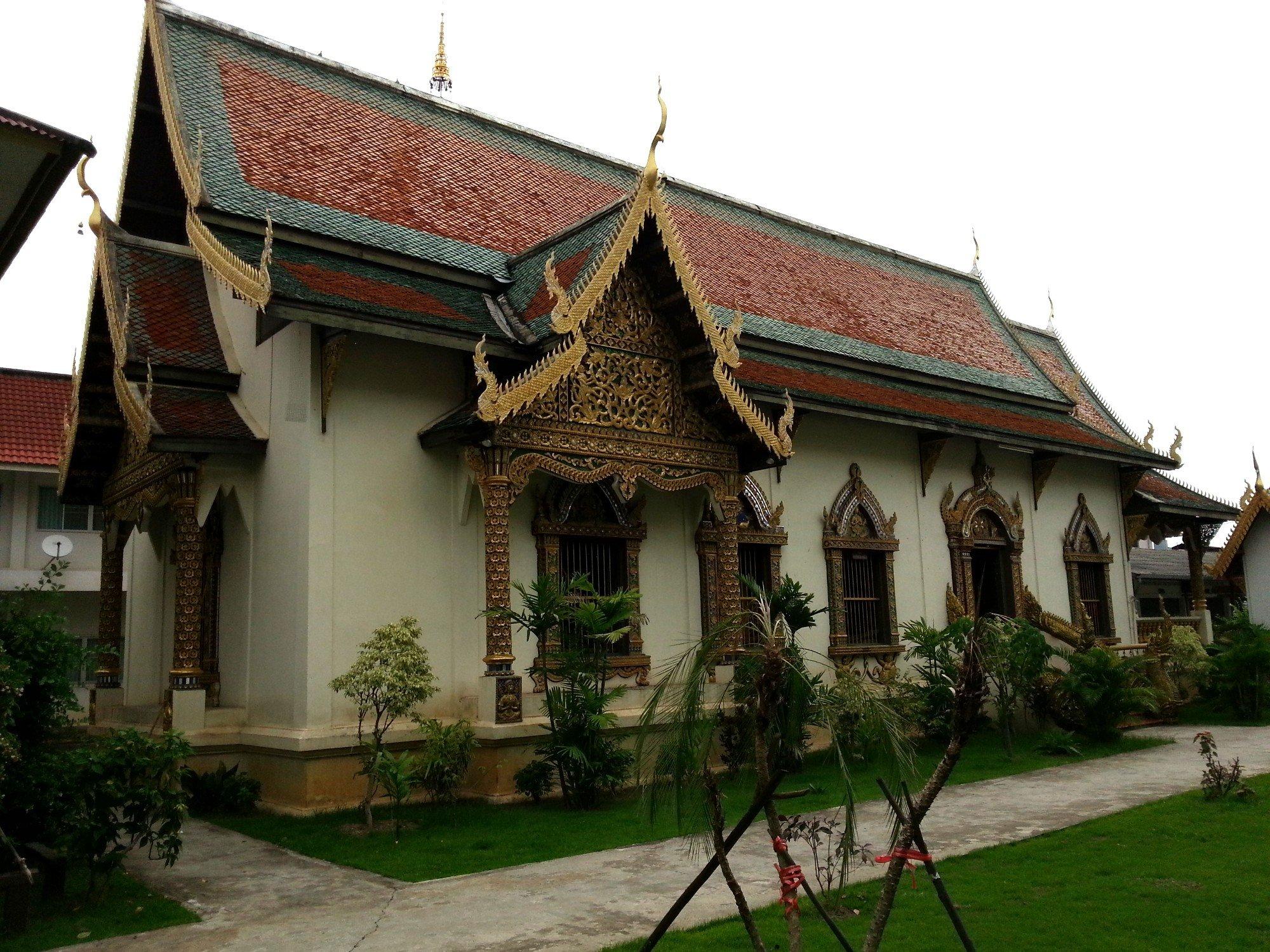 Smaller assembly hall at Wat Chiang Man