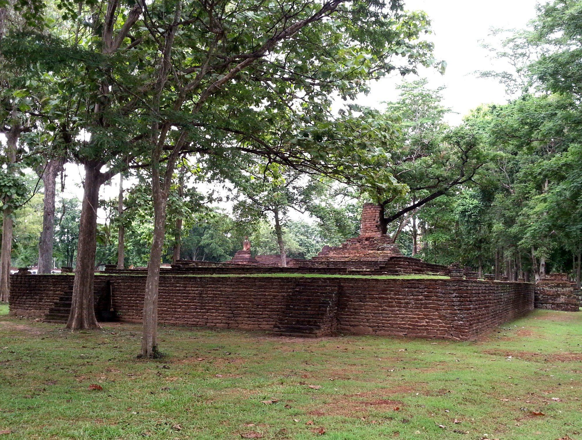 Wat E-Kang at Kamphaeng Phet Historical Park