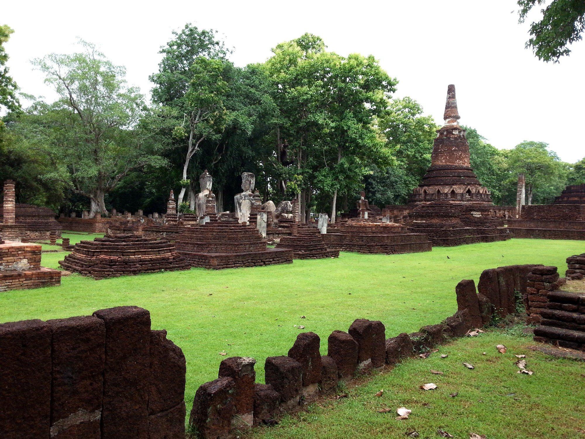 Wat Phra Kaew at Kamphaeng Phet Historical Park