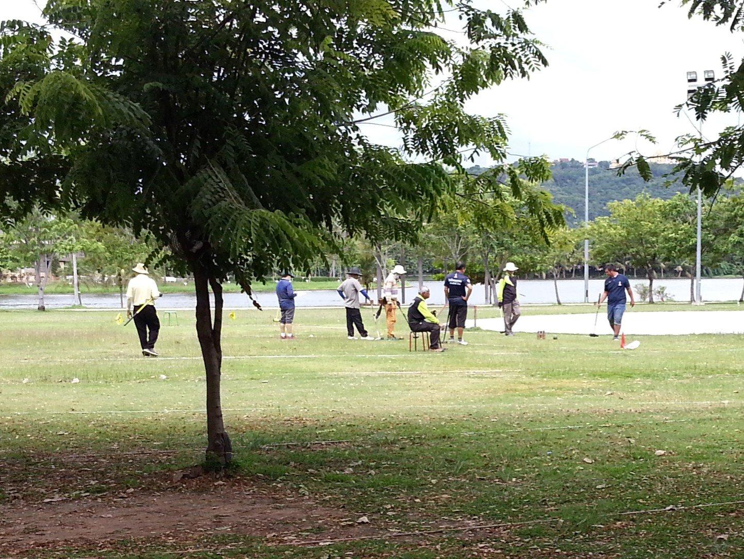 Woodball club in Paradise Park