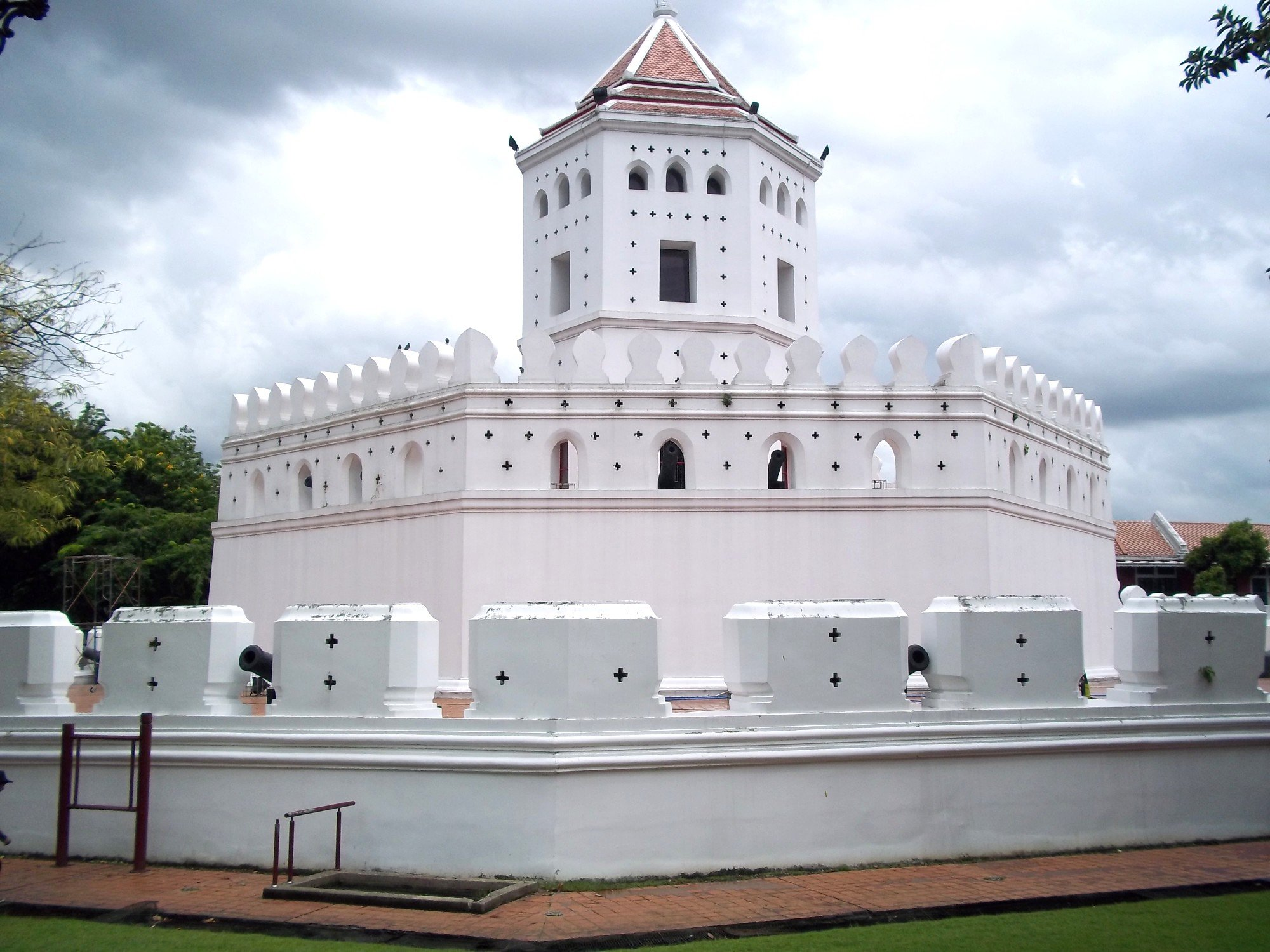 Phra Sumen Fort in Bangkok