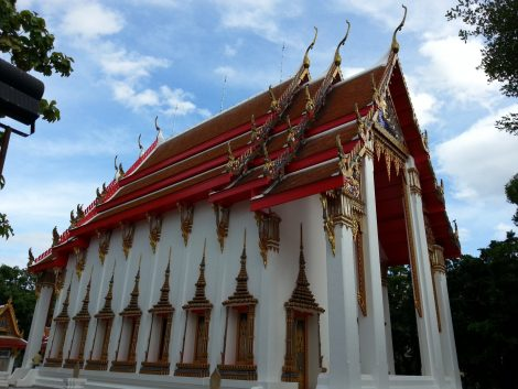 Ordination Hall at Wat Nakhon Sawan
