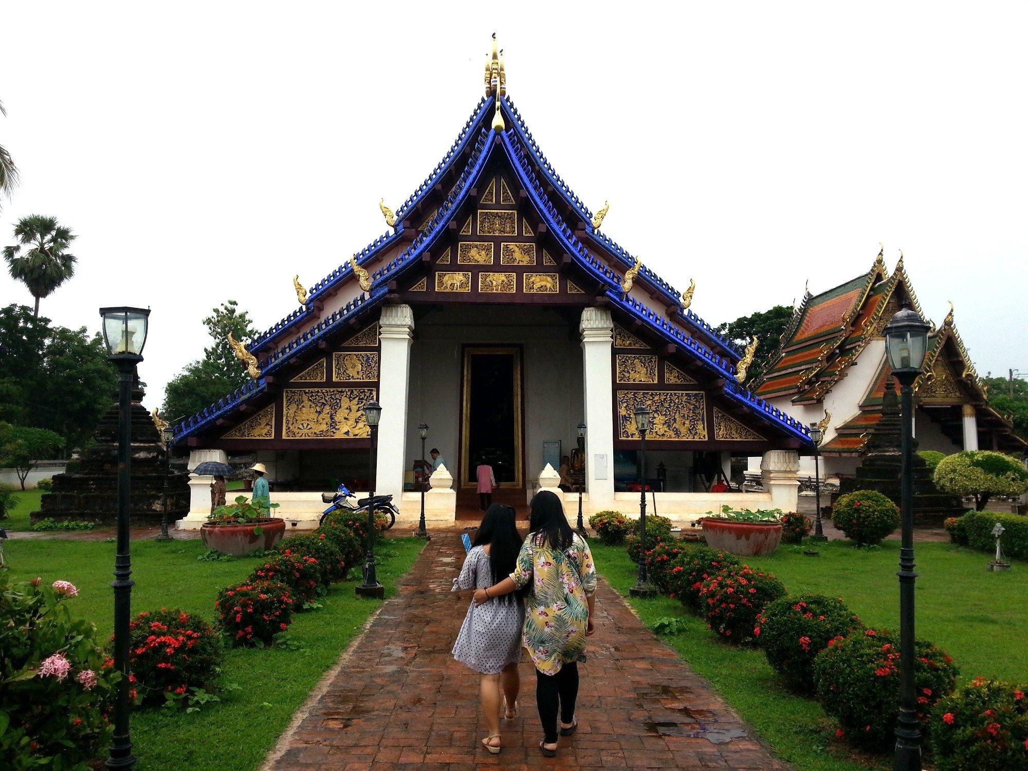 Prayer hall at Wat Phra Brommathat Thung Yang