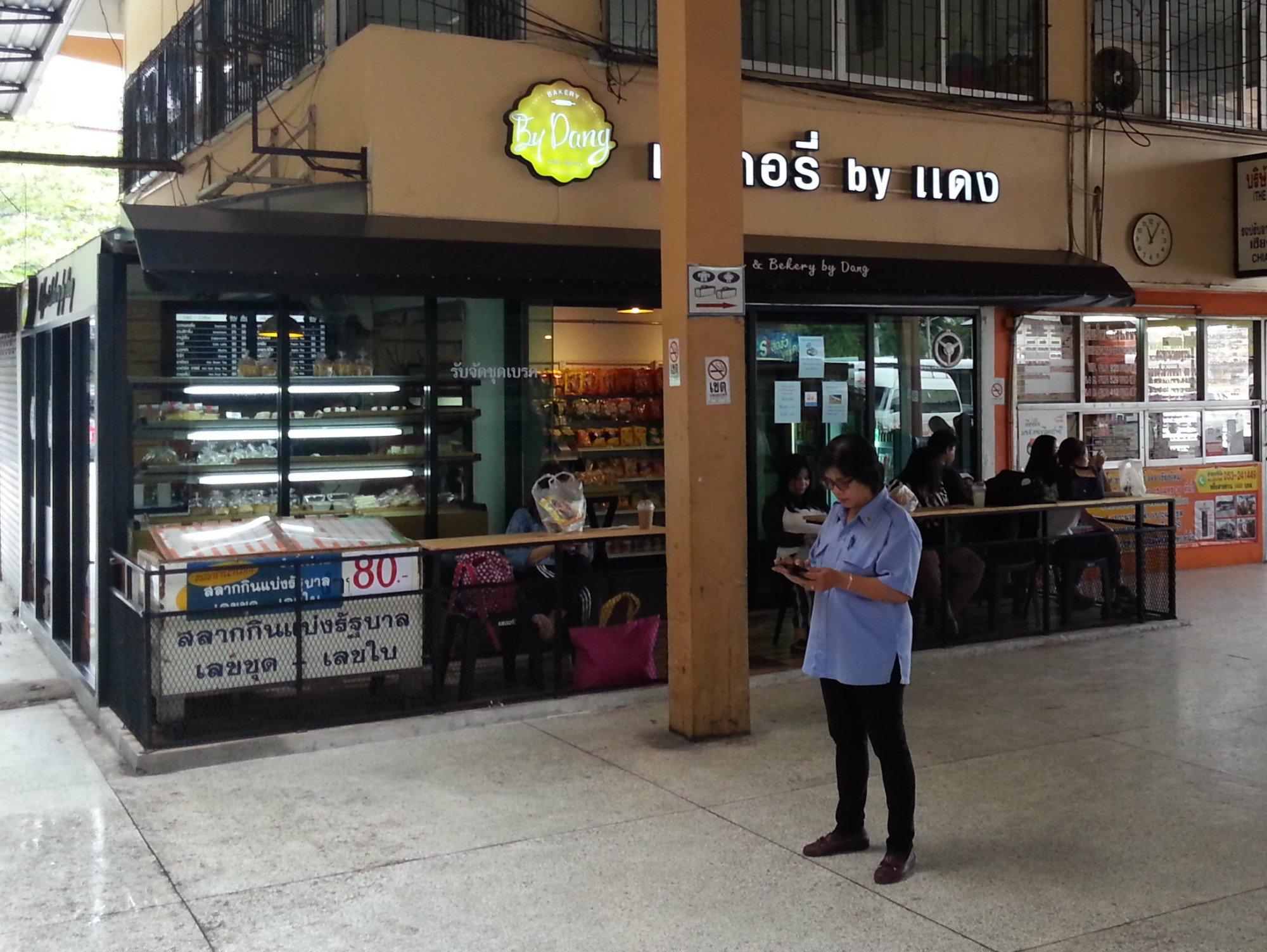 Restaurant at Chiang Mai Bus Terminal 2