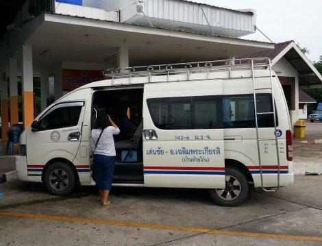 Minivan from Nan to the Laos Border
